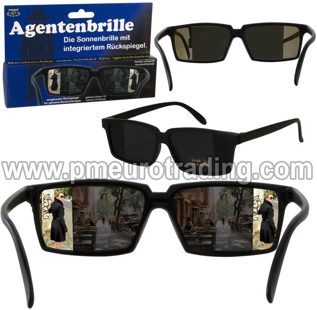 Agenten-Sonnenbrille
