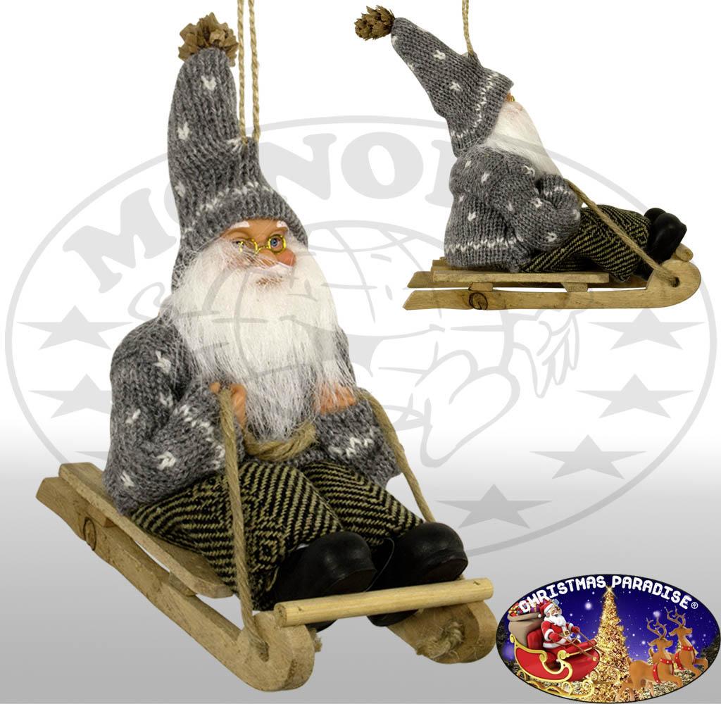 Santa Claus na Sledge 18cm / Boże Narodzenie