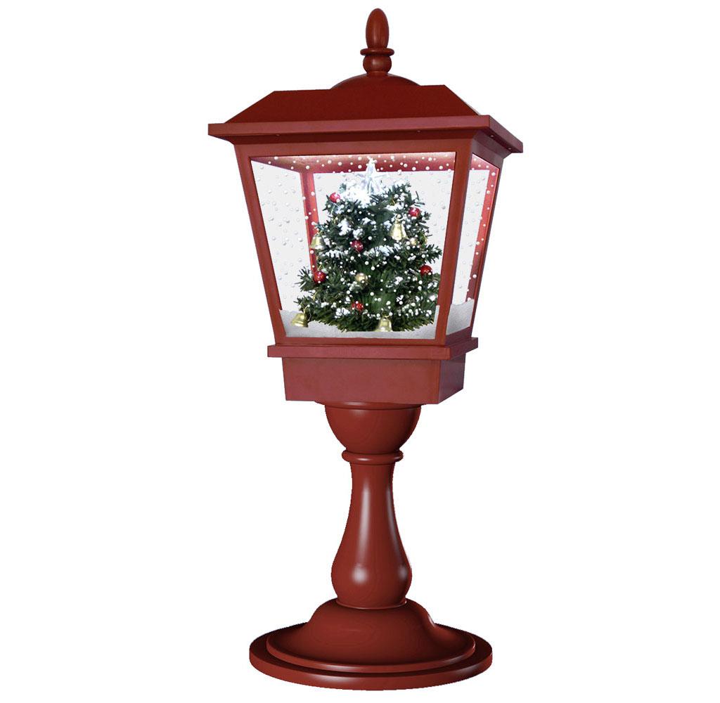 Schneiende LED Tischlaterne 65cm Motiv Baum